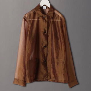 BEAUTY&YOUTH UNITED ARROWS - 6 ROKU SUKE SHIRT ロク スケシャツ ブラウン 36