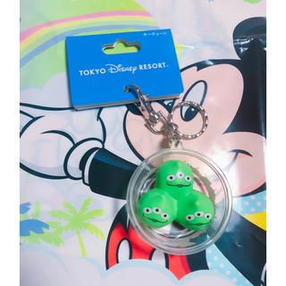 Disney - 1点のみ ディズニー パークフード  キーチェーン トイストーリー エイリアン