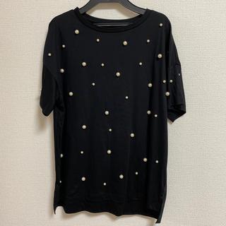 グレースコンチネンタル(GRACE CONTINENTAL)のパールTシャツ グレースコンチネンタル(Tシャツ(半袖/袖なし))