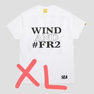ジーディーシー(GDC)のwindandsea fr2 コラボTシャツ White XL(Tシャツ/カットソー(半袖/袖なし))