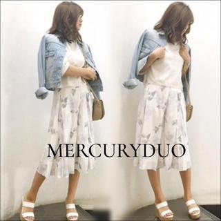 MERCURYDUO - MERCURY DUO 花柄 ガウチョ スカーチョ♡snidel ムルーア