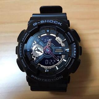 カシオ(CASIO)の【美品】CASIO G-SHOCK  GA-110RG ローズゴールド 稼働中(腕時計(デジタル))