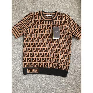 FENDI - FENDI ニット半袖セーター