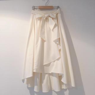 【INGNI】ラッフルスカート