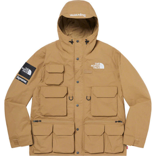 Supreme - supreme the north face cargo jacket タン S