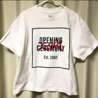 X-girl - オープニングセレモニー×エックスガール コラボ Tシャツ