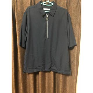 ナノユニバース(nano・universe)のハーフジップ シャツ カットソー(Tシャツ/カットソー(半袖/袖なし))