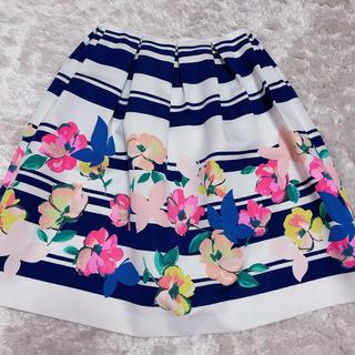 Chesty - chesty 花柄ストライプスカート
