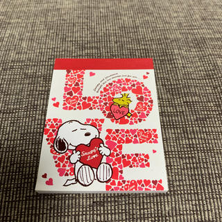 スヌーピー(SNOOPY)のユニバーサルスタジオジャパン スヌーピー  メモ帳 メモパッド USJ(ノート/メモ帳/ふせん)