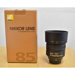 Nikon - 新品同様 Nikon AF-S NIKKOR 85mm f1.8G