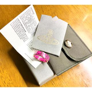 Vivienne Westwood - 【美品/M】ヴィヴィアンウエストウッド コンジットストリートリング ピンク