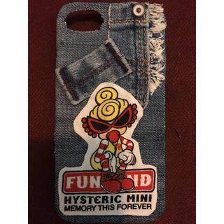 ヒステリックミニ(HYSTERIC MINI)のハンドメイド ヒスミニ iPhone7 iPhone8 カバー(スマホケース)