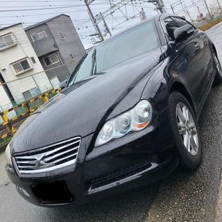 トヨタ - 関西 マークX 平成20 車検約1年半 黒