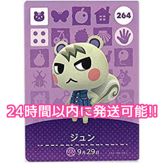 Nintendo Switch - どうぶつの森 amiiboカード ジュン