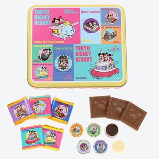 Disney - 新作 ディズニー レトロ チョコレート缶