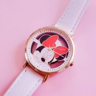 Disney - ミニーマウス Minnie 腕時計  ディズニー ウォッチ