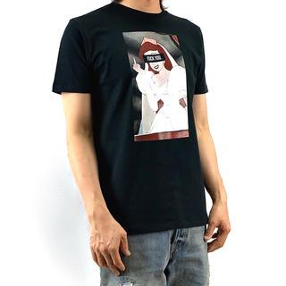 新品 リトルマーメイド アリエル ウェディングドレス FUCK YOU Tシャツ(Tシャツ/カットソー(半袖/袖なし))