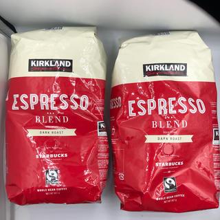 コストコ(コストコ)のKIRKLAND シグネチャー スターバックス ロースト エスプレッソコーヒー (コーヒー)