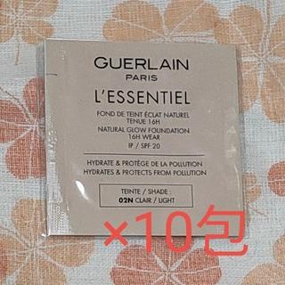 ゲラン(GUERLAIN)のゲラン レソンシエル ファンデーション 02N 10包セット(ファンデーション)