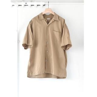 コモリ(COMOLI)の20SS  COMOLI / コモリ ベタシャン オープンカラー シャツ 3(シャツ)