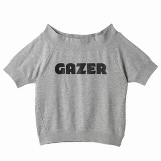 マウジー(moussy)の安室奈美恵 GAZER コラボ 半袖 スウェット Tシャツ フリーサイズ (ミュージシャン)