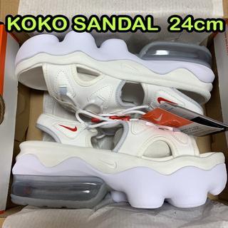 NIKE - 白24cm ナイキ エアマックス ココサンダル KOKO SANDAL