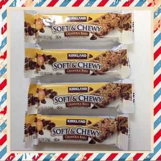 4本★チョコチップ グラノーラバー(その他)