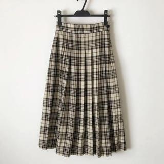 ローリーズファーム(LOWRYS FARM)のLOWRYS FARM タータンチェック プリーツロングスカート(ロングスカート)
