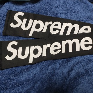 シュプリーム(Supreme)のsupreme アームスリーブ 黒 超美品(バスケットボール)