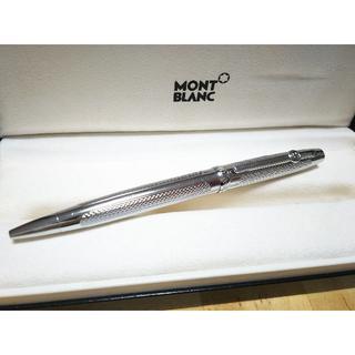 MONTBLANC - MONT BLANC ツイスト式ボールペン シルバー ノベルティ