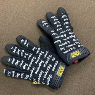 シュプリーム(Supreme)のSupreme/Mechanix Work Gloves黒M(手袋)