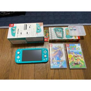 Nintendo Switch - Switch Lite・ケース・ポケットモンスターソード・あつまれどうぶつの森