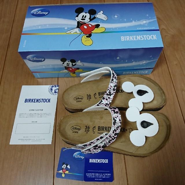 BIRKENSTOCK(ビルケンシュトック)のビルケンシュトック ディズニーコラボ トフィーノ 36 23cm~23.5cm レディースの靴/シューズ(サンダル)の商品写真