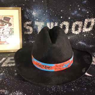 ヴィヴィアンウエストウッド(Vivienne Westwood)の新品 レア Vivienne 限定 麦わら帽子 カーボーイハット(ハット)
