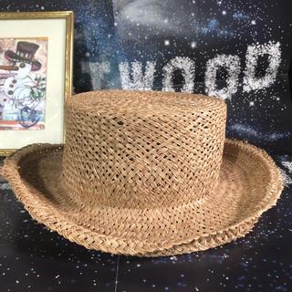 ヴィヴィアンウエストウッド(Vivienne Westwood)の新品 World'sEnd 限定 Vivienne 麦わら ジョンブルハット(麦わら帽子/ストローハット)