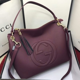 Gucci - 正規品 GUCCI ソーホー レザー バッグ