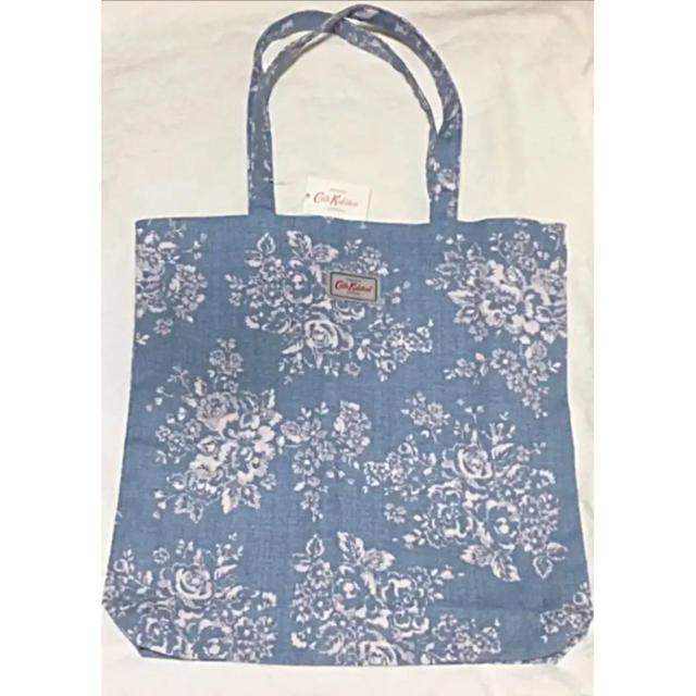 Cath Kidston(キャスキッドソン)の【新品未使用品】トートバッグエコバッグ水色 キャスキッドソン レディースのバッグ(トートバッグ)の商品写真