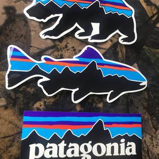 patagonia - ★最新作★新品未使用 パタゴニア フィッツロイ柄ステッカー 3枚セット ベア
