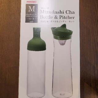 ハリオ(HARIO)のHARIO ハリオ フィルターインボトル 水出し茶 ボトル&ピッチャーセット (その他)