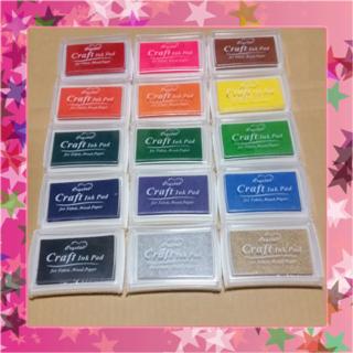 【送料無料◇新品】スタンプ台 15色セット★
