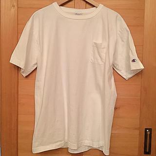 Champion - チャンピオン Tシャツ tシャツ メンズ 白 ホワイト 綿 半袖 XL L
