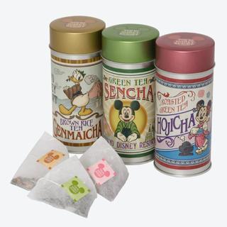 ディズニー(Disney)の【未開封・新品】ディズニー 日本茶 3缶セット(茶)