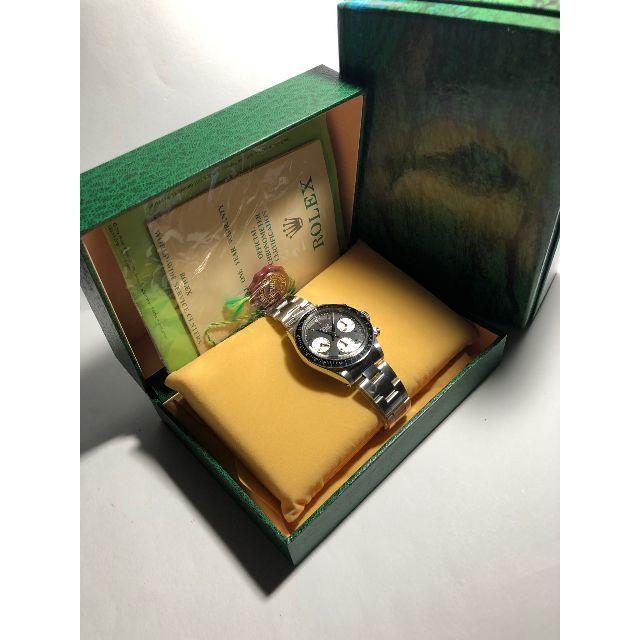 ROLEX(ロレックス)のビンテージ 6263BIG ブラックダイヤル カスタム 修理用 部品 メンズの時計(腕時計(アナログ))の商品写真