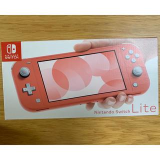 Nintendo Switch - Nintendo Switch Liteコーラル