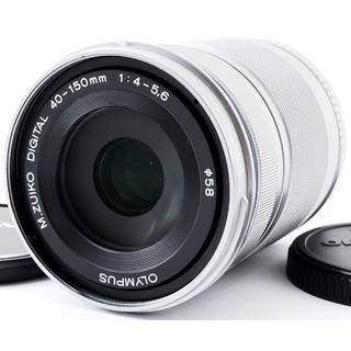 オリンパス(OLYMPUS)の❤️未使用品❤️オリンパス❤️OLYMPUS M.ZUIKO 40-150 R(レンズ(ズーム))
