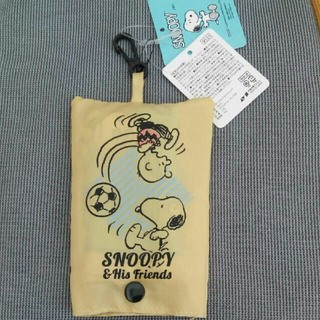 SNOOPY - 【新品、未使用】スヌーピーのエコバッグSNOOPY&His Friends