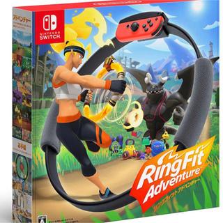 ニンテンドースイッチ(Nintendo Switch)のリングフィットアドベンチャー 新品未使用 switch ニンテンドースイッチ(家庭用ゲームソフト)