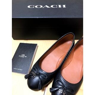 COACH - coach バレエシューズ