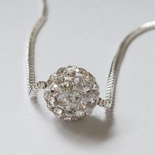 SWAROVSKI - f23 🌸スカビオサ🌸 ダイヤモンド キュービック ジルコニア ネックレス
