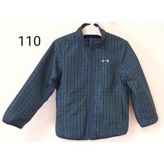 familiar - リバーシブルジャケット 110 ファミリア 青系